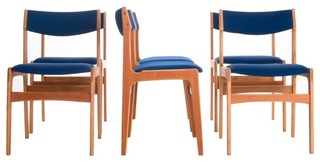 Vintage Danish Modern Dining Chairs Modern Dining