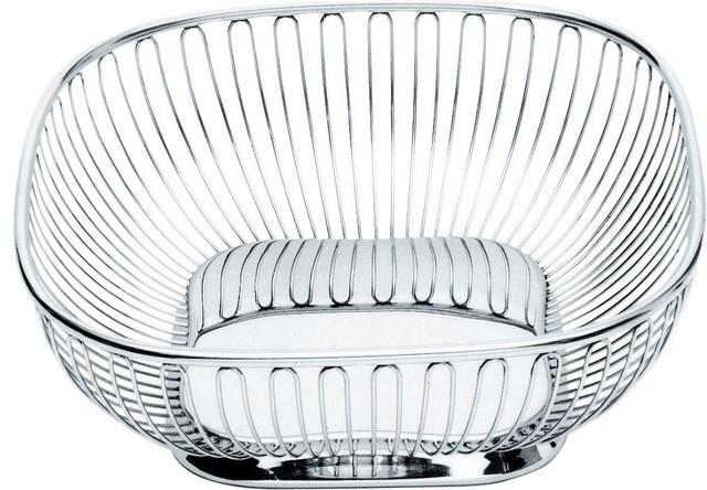 alessi square wire basket - contemporary