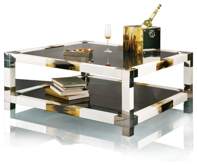 Anchorage horn d cor range coffee table craftsman for Coffee tables the range