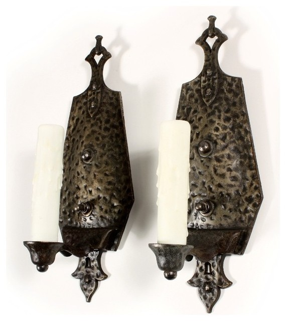 Antique Gothic Wall Sconces : Antique Gothic Revival Lighting - Eclectic - Wall Sconces - nashville - by Preservation Station