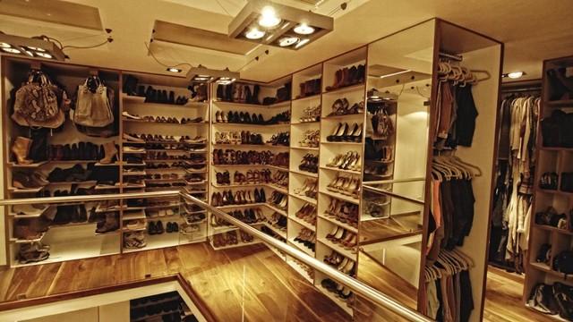 Zapateras moderno mexico city de vanguardia closets for California closets mexico