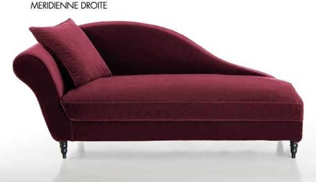 m ridienne velours lipstick contemporain chaise longue et m ridienne par la redoute. Black Bedroom Furniture Sets. Home Design Ideas