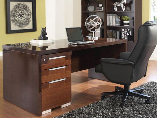 Pisa Desk - Modern - Desks And Hutches - by Plummers Furniture