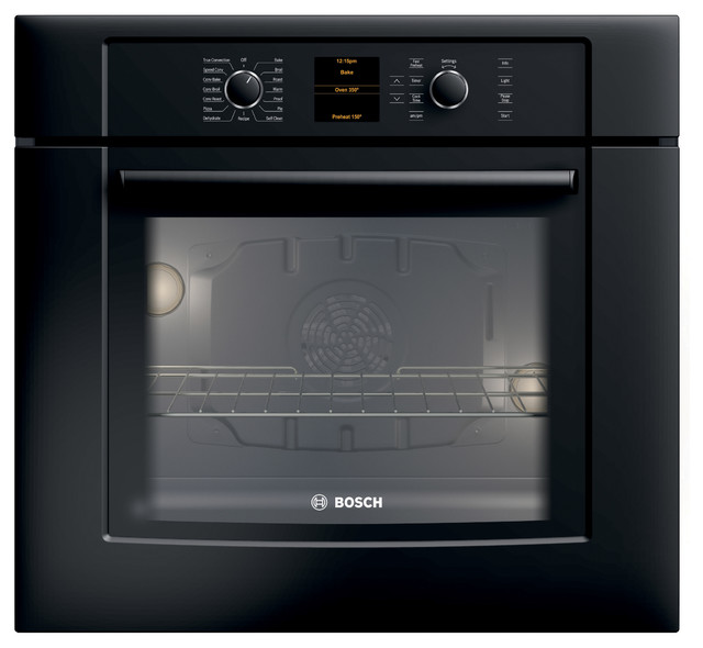 """Bosch 30"""" 500 Series Single Wall Oven With Convection, Black 