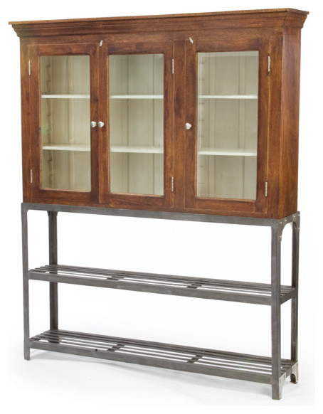 Urban Farmhouse Shopkeeper's Pantry - Farmhouse - Accent Chests And ...
