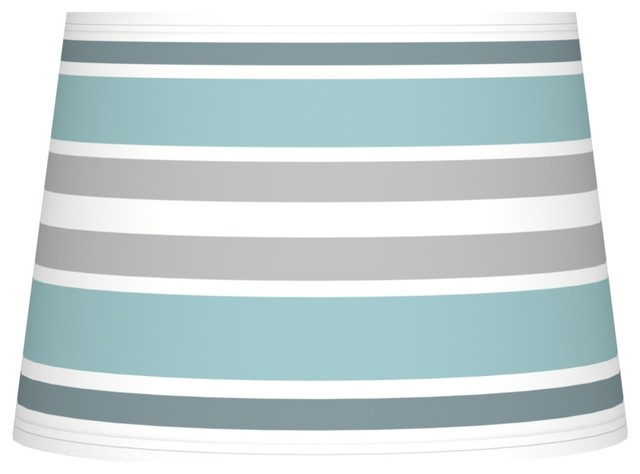 multi color stripes giclee tapered lamp shade 10x12x8. Black Bedroom Furniture Sets. Home Design Ideas