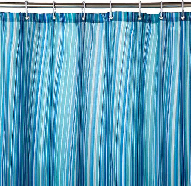 Stardust Stripe Shower Curtain