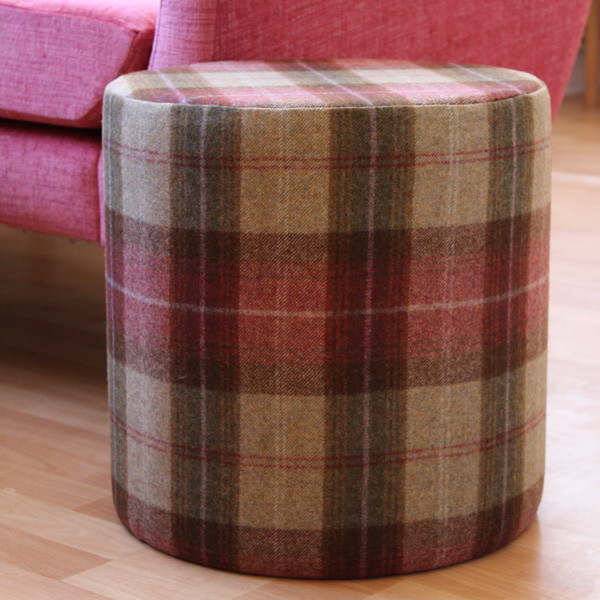 footstools with own fabric 3