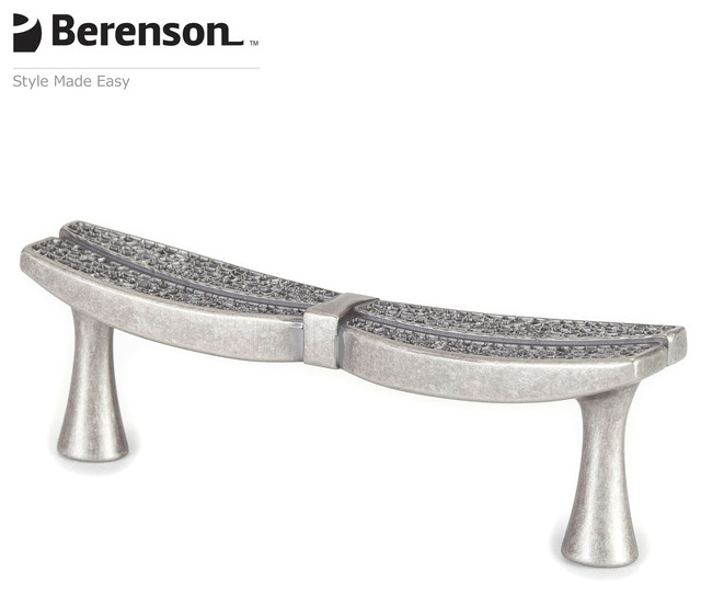 9494-10WN-P Weathered Nickel Cabinet Pull by Berenson - Craftsman - Cabinet And Drawer Handle ...