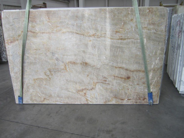 Exotic White Granite Quartzite Slabs From Italy