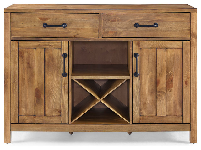 Roots natural wood buffet farmhouse buffets and