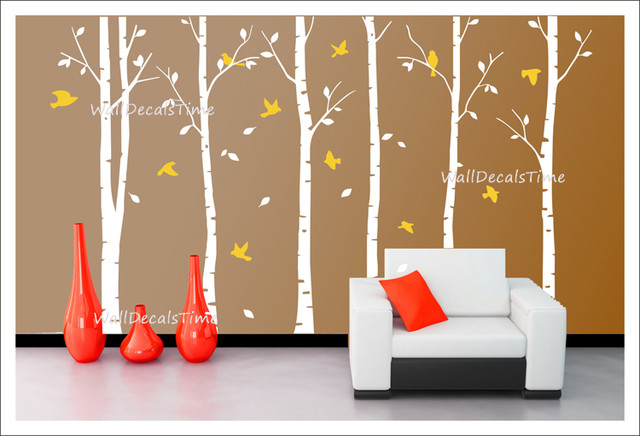 Tree wall decals removable vinyl decal wall decor wall sticker trees
