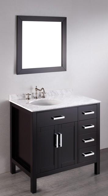 36 inch bosconi sb 2105 contemporary single vanity - 36 Inch Bosconi Sb 2105 Contemporary Single Vanity Contemporary