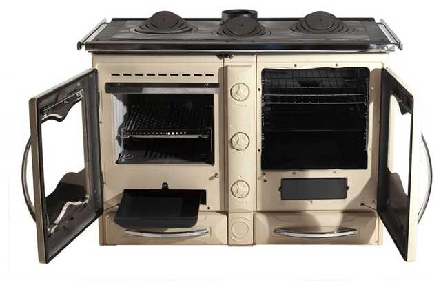 america wood cook stove la nordica italy cream traditional freestanding stoves by. Black Bedroom Furniture Sets. Home Design Ideas