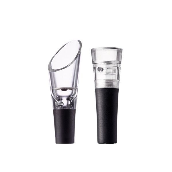 Menu Wine Set With Decanting Pourer and Vacuum Stopper - Modern - Wine Aerators And Stoppers ...