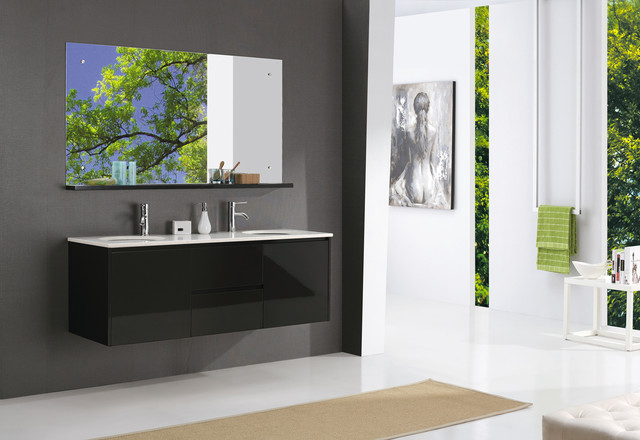 1500mm Solid Timber White Bathroom Vanity Salerno Bathroom