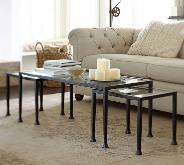 Tanner Nesting Coffee Table Traditional Coffee Tables Sacramento By Pottery Barn