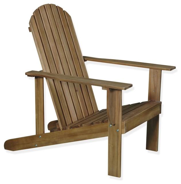 Bergonce fauteuil de jardin en acacia huil bord de mer for Decoration jardin bord de mer