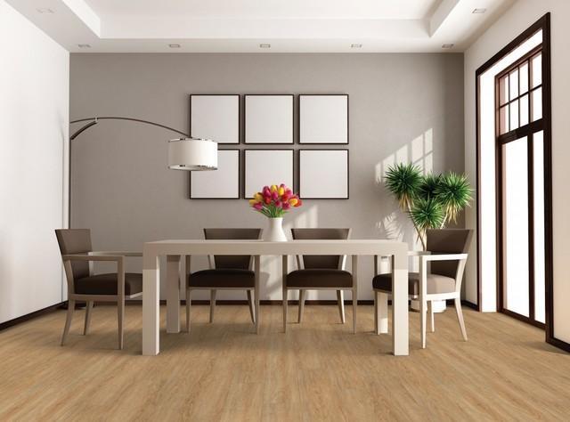 US Floors COREtec Plus XL Plank Highlands Oak LVT Flooring - Contemporary - Vinyl Flooring - by ...