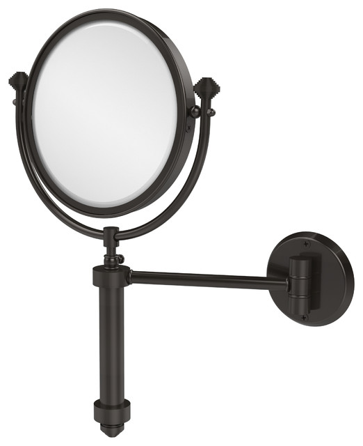 8 Quot Wall Mirror 5x Mag Oil Rubbed Bronze Contemporary