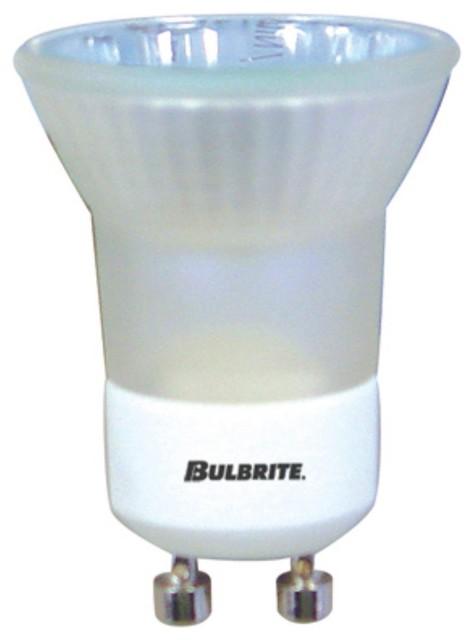 Bulbrite 35W MR11 Frosted Halogen Bulb - GU10 Base, 120V - Modern - Light Bulbs - by LBC Lighting