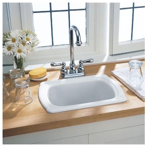 Chandler Americast Island Kitchen Sink Modern Bath Products