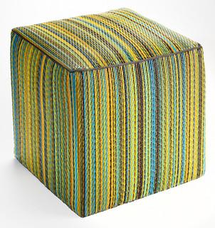 cancun pouf lemon and apple green exotique coussin de sol par fab habitat. Black Bedroom Furniture Sets. Home Design Ideas