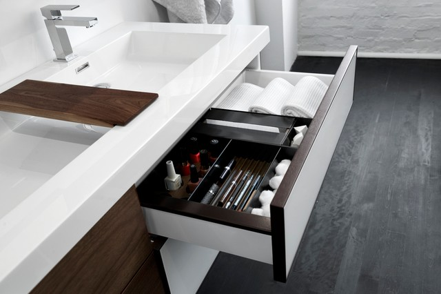 Frame collection modern bathroom vanities and sink for Bathroom cabinets montreal