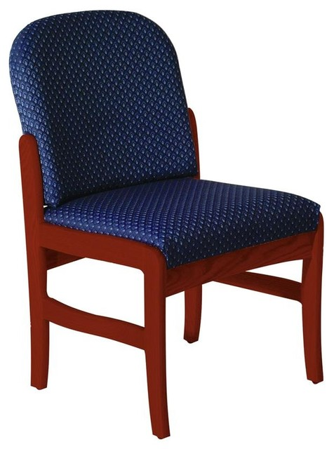 Chair vinyl blue contemporary office chairs by shopladder