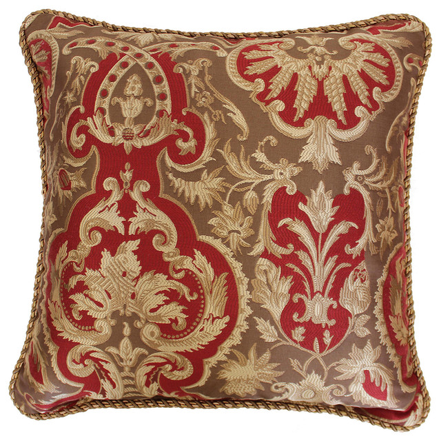 Austin Horn Classics 20-inch Botticelli Luxury Throw Pillow - Contemporary - Decorative Pillows ...