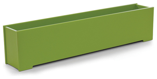 8 gallon rectangle planter loll designs modern for Loll planters