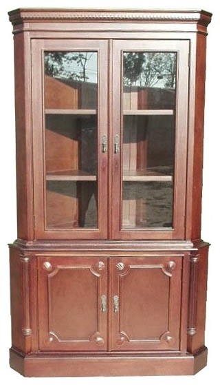Corner Cabinet 2-Door - Traditional - China Cabinets And Hutches - by ...