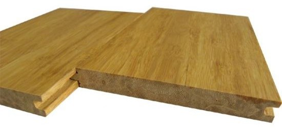 Tongue And Groove Strand Woven Bamboo Flooring Modern
