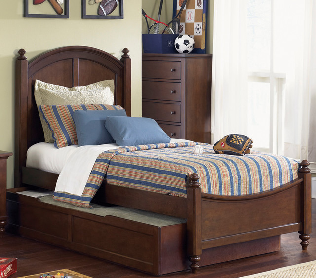 Twin bed twin trundle and nightstand set contemporary beds by