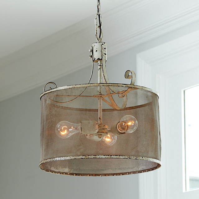 ballard designs geneva 3 light pendant contemporary