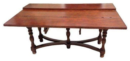 Used dining table to sideboard convertible console traditional dining tab - Console convertible table ...