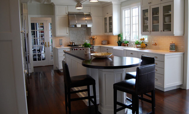 Wood Kitchen Island Countertop by Grothouse - Contemporary - Kitchen ...