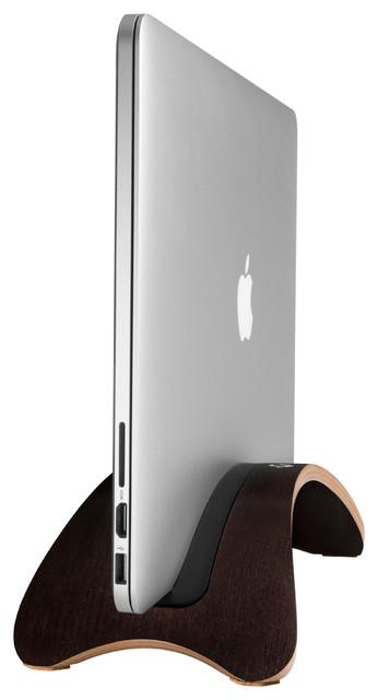 BookArc Mod Espresso Laptop Stand Contemporary Desk