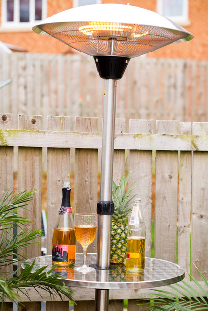 Andrew james patio heater outdoor bar furniture north