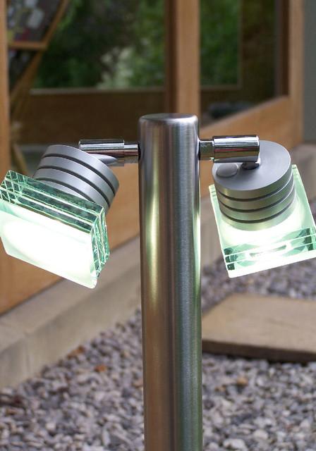 Ambo Led Bollard Light Contemporary Path Lights