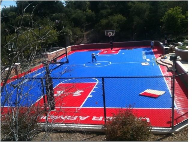 sport court ohio backyard courts