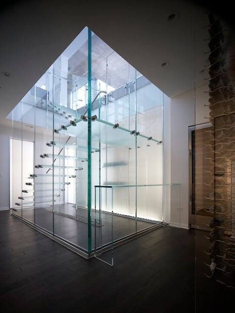 Glass Stair - Modern - Staircase - Chicago - by Thomas ...