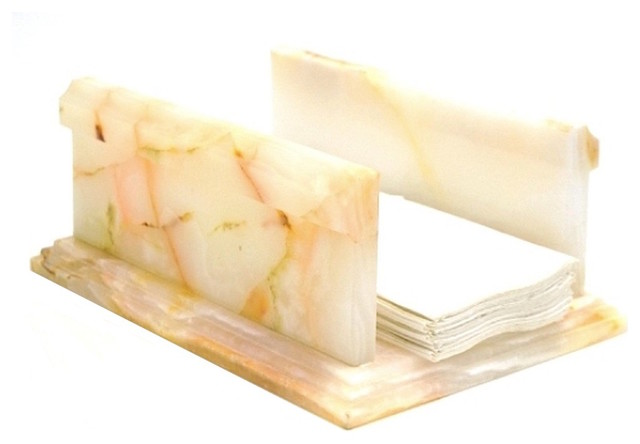 White Onyx Bathroom Hand Towel Holder Traditional Paper Towel Holders By Nature Home Decor