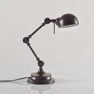 Lampe de bureau m tal style industriel kikan - Lampe de bureau style industriel ...