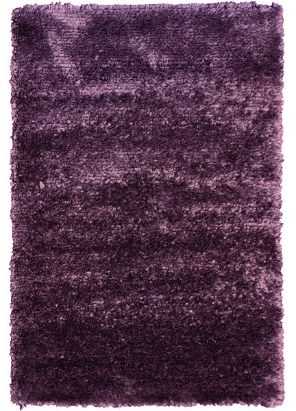 Flower shag rug purple 5 39 x8 39 contemporary rugs by for Purple area rugs contemporary