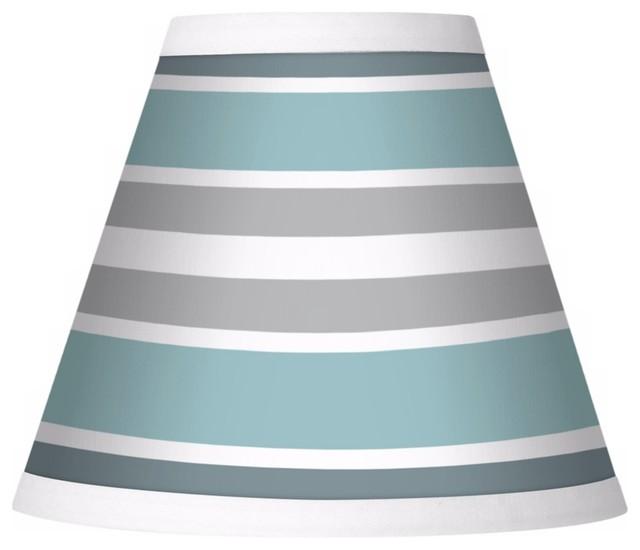 multi color stripes giclee set of four shades 3x6x5 clip. Black Bedroom Furniture Sets. Home Design Ideas