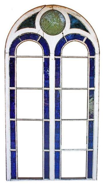 ... Salvage French Door Art Hanging contemporary-windows-and-doors
