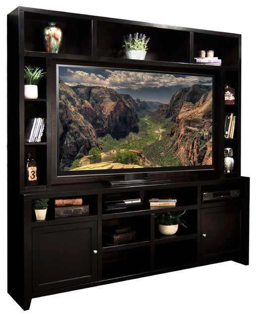 """Urban Loft 84"""" Super Hutch - Traditional - Entertainment Centers And Tv Stands - by Legends ..."""