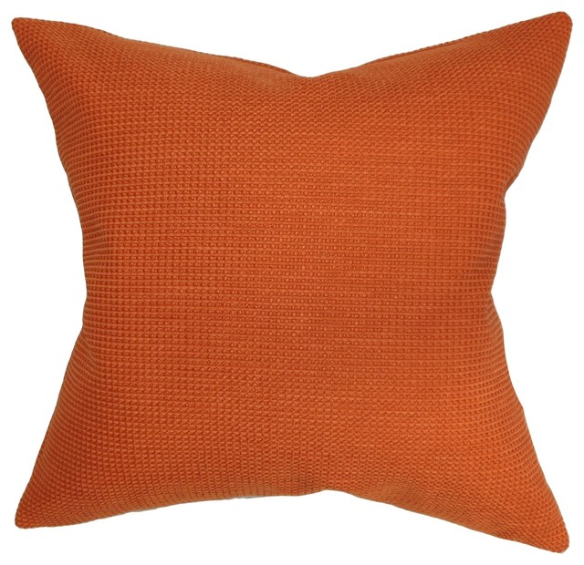 Gumamela Plain Pillow Papaya 18