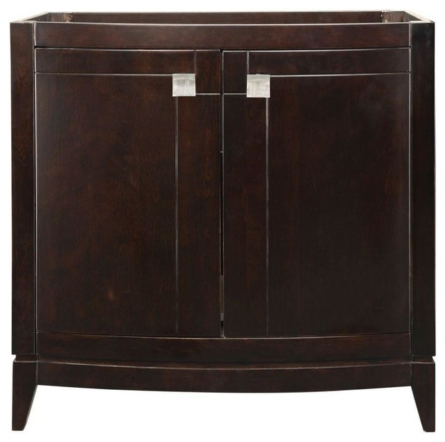 gavin birch vanity cabinet only espresso 36quotx2150quotx35 With birch bathroom vanity cabinets